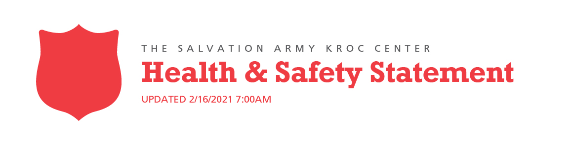 Kroc Health & Safety Statement 3/16/2020