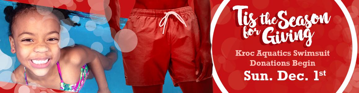 Aquatics Swimsuit Drive starts December 1st!