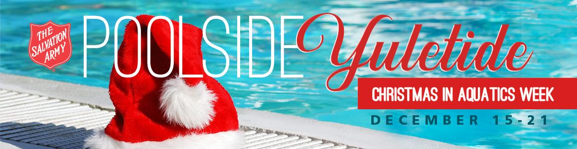 Register for Poolsdie Yuletide for Christmas week in Aquatics